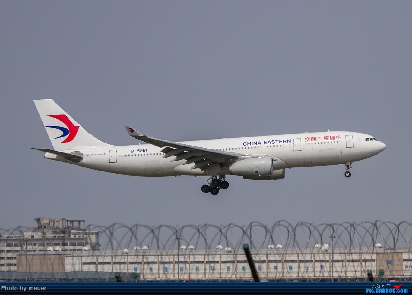 Re:[原创]【福州飞友会】第一次PVG拍机 满足! AIRBUS A330-200 B-5961