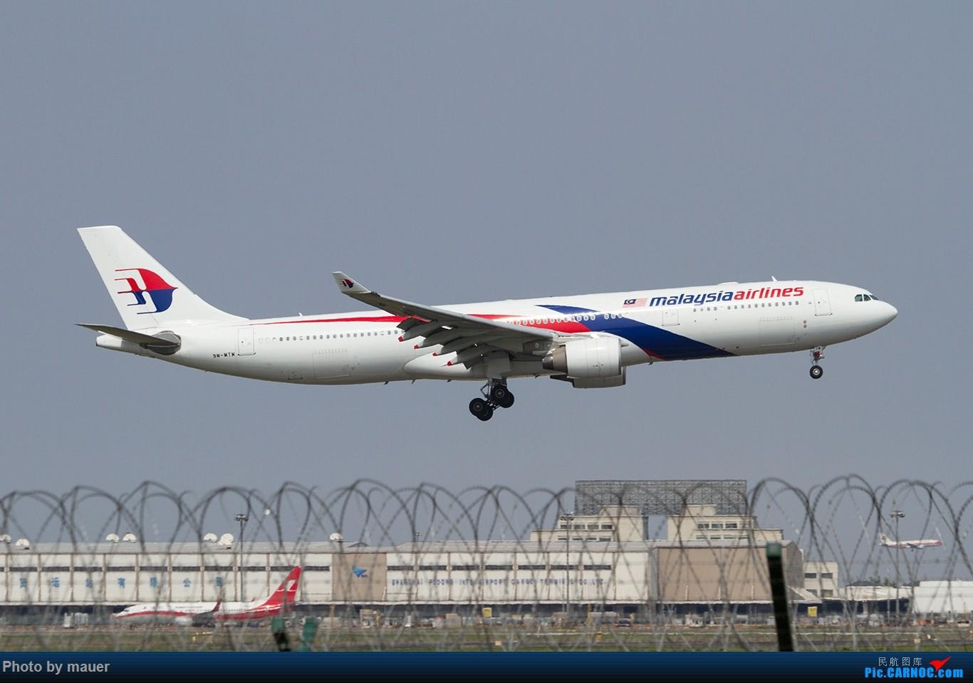 Re:[原创]【福州飞友会】第一次PVG拍机 满足! AIRBUS A330-300 9M-MTM PVG