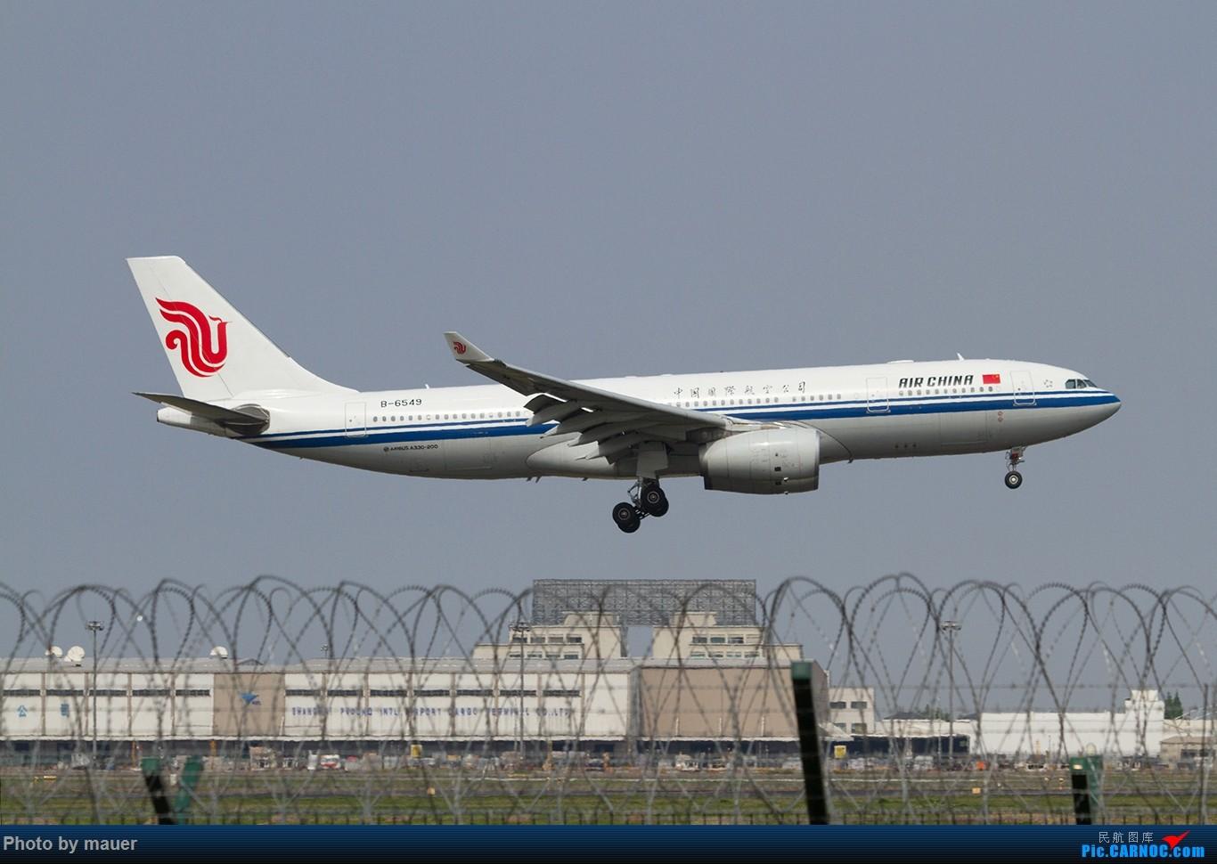 Re:[原创]【福州飞友会】第一次PVG拍机 满足! AIRBUS A330-200 B-6549