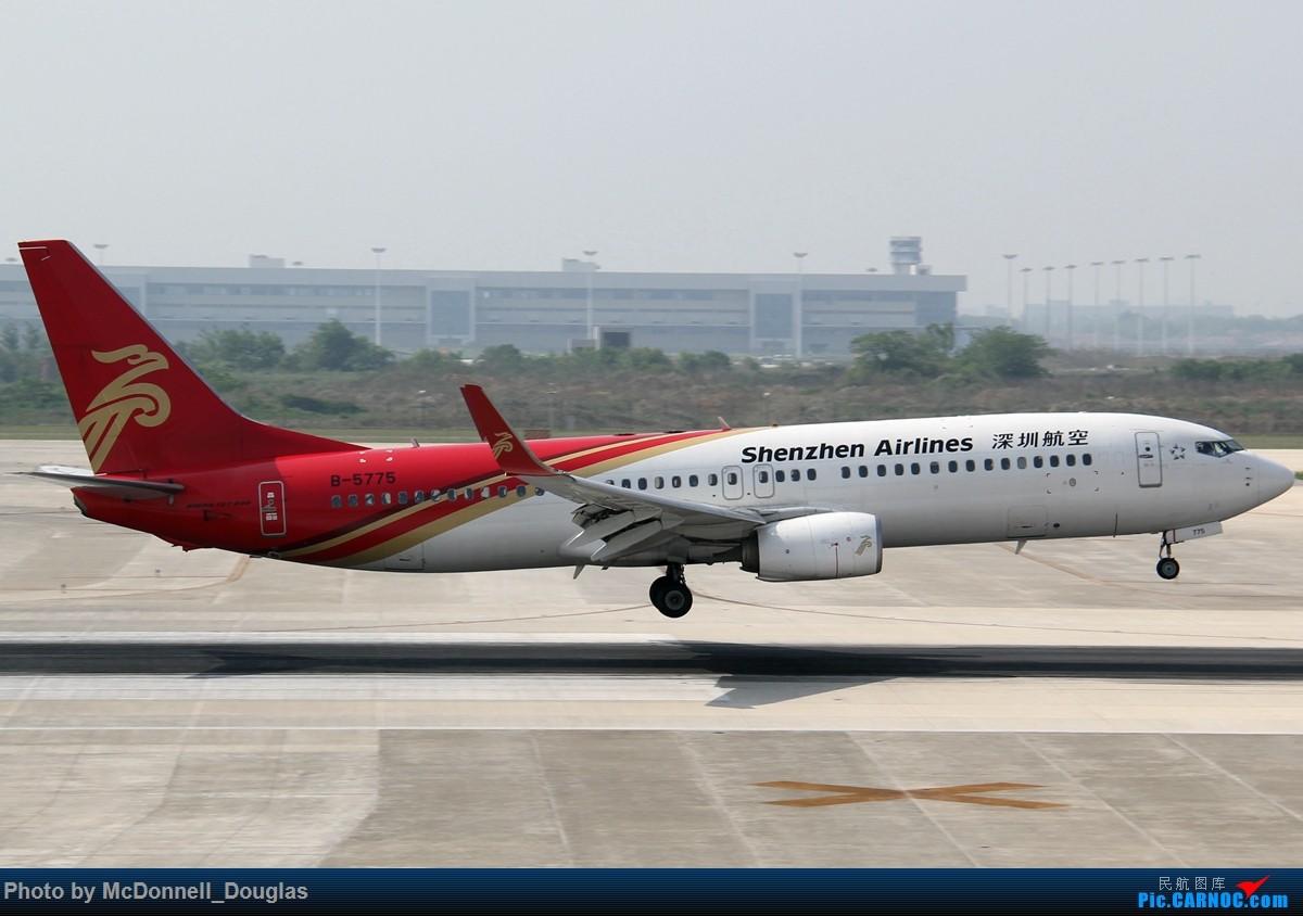 Re:[原创]【上海飞友会】2015.05.01劳动节拍机计划打MD-90偶遇MD-83和三架小190~ BOEING 737-87L B-5775 中国南京禄口国际机场