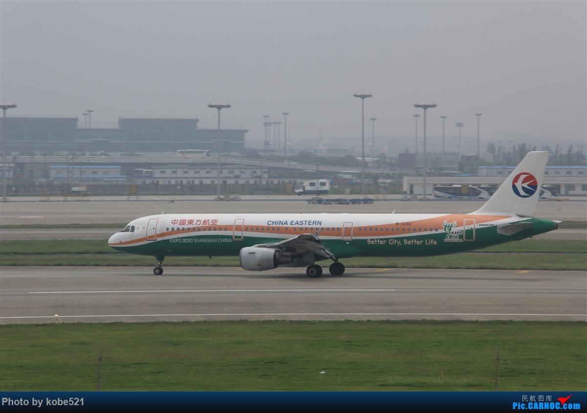Re:[原创]烂天来好货~~ AIRBUS A321-200 B-2290 中国杭州萧山国际机场