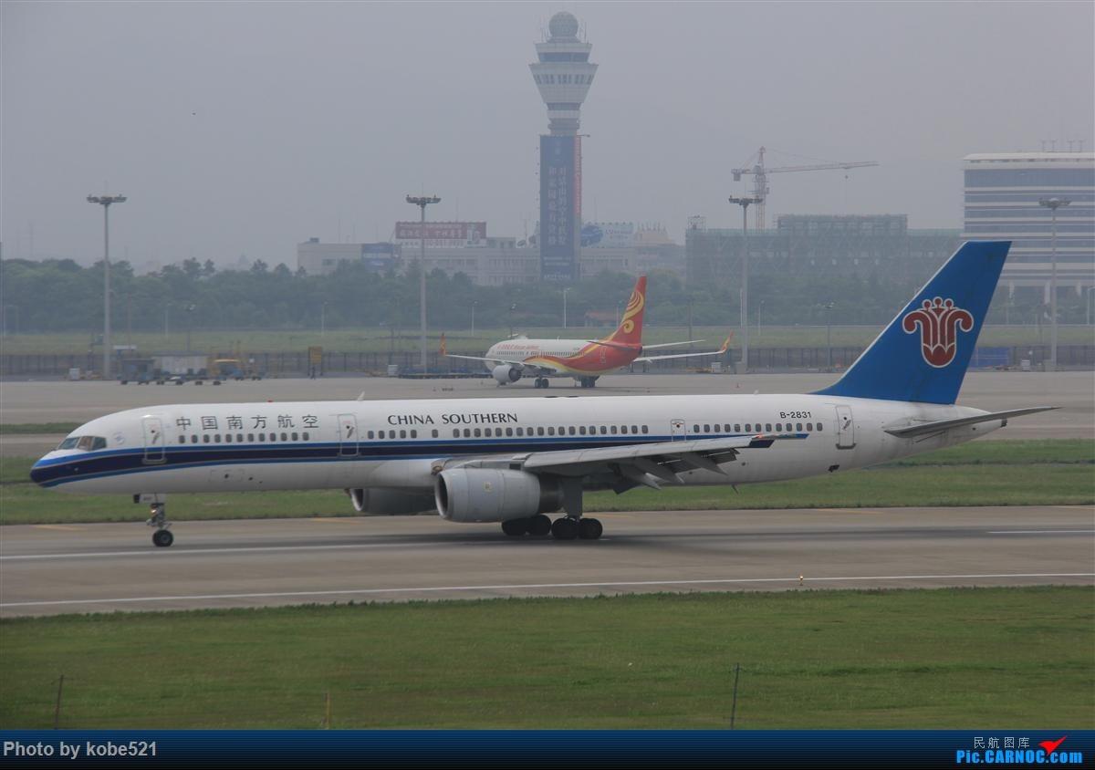Re:[原创]烂天来好货~~ BOEING 757-200 B-2831 中国杭州萧山国际机场