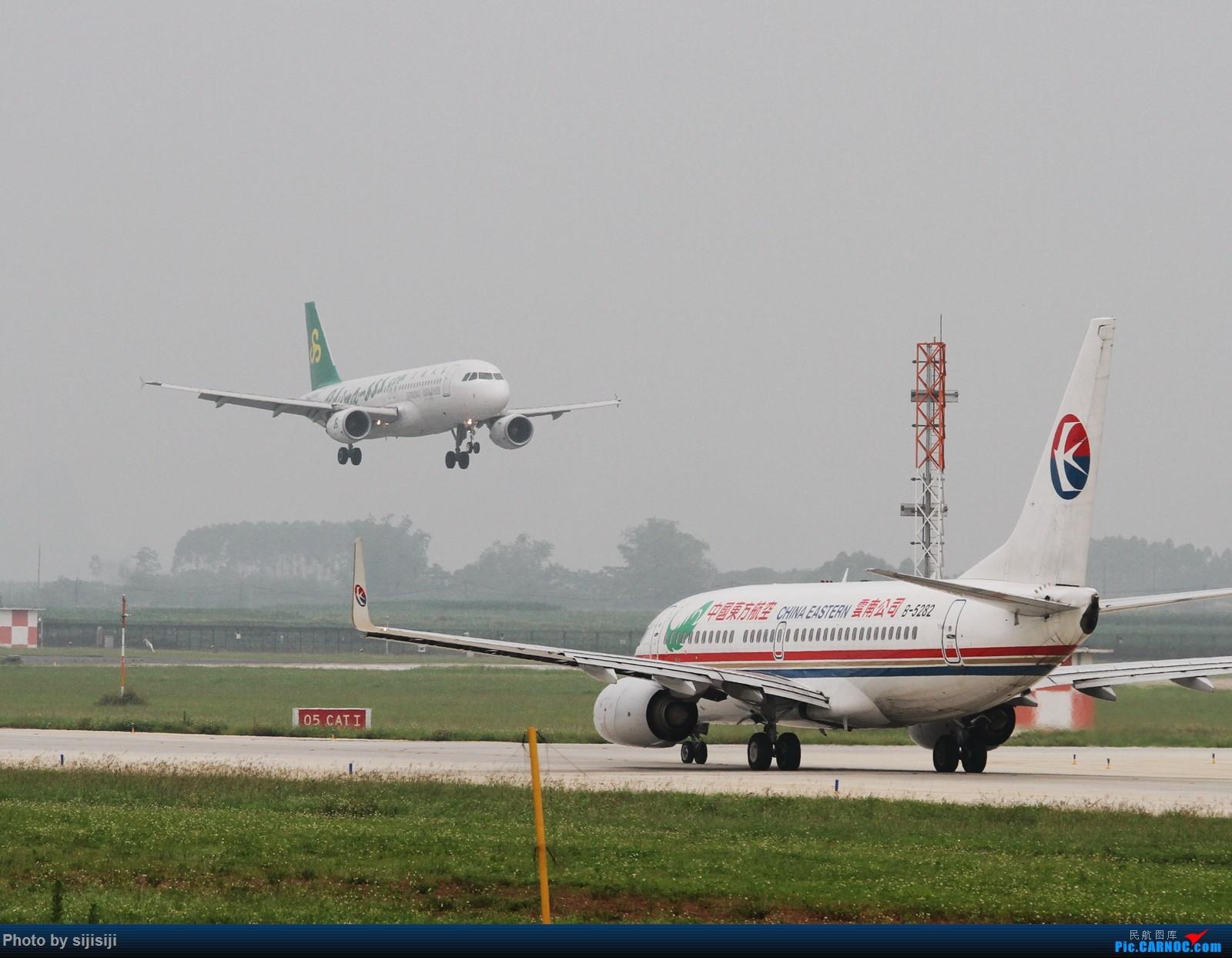 Re:[原创]【NNG飞友】屌丝村口迎来金凤凰,国航332飞抵NNG BOEING 737-700 B-5282 中国南宁吴圩国际机场