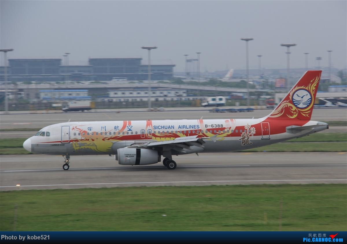 Re:[原创]烂天来好货~~ AIRBUS A320-200 B-6388 中国杭州萧山国际机场