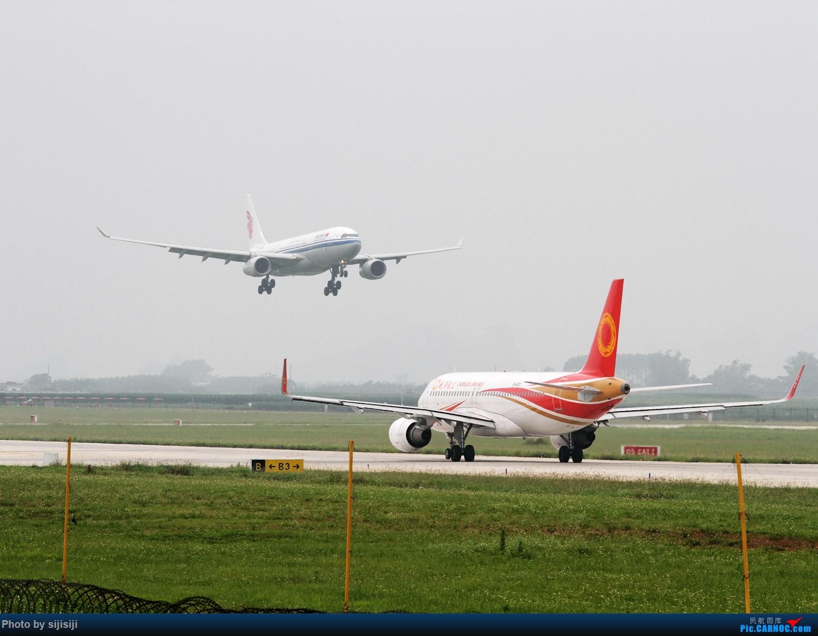 Re:[原创]【NNG飞友】屌丝村口迎来金凤凰,国航332飞抵NNG AIRBUS A330-200