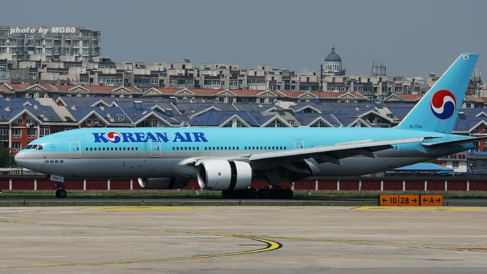 Re:[原创][DLC内场] DLC的大飞机 BOEING 777 HL7734 中国大连周水子国际机场