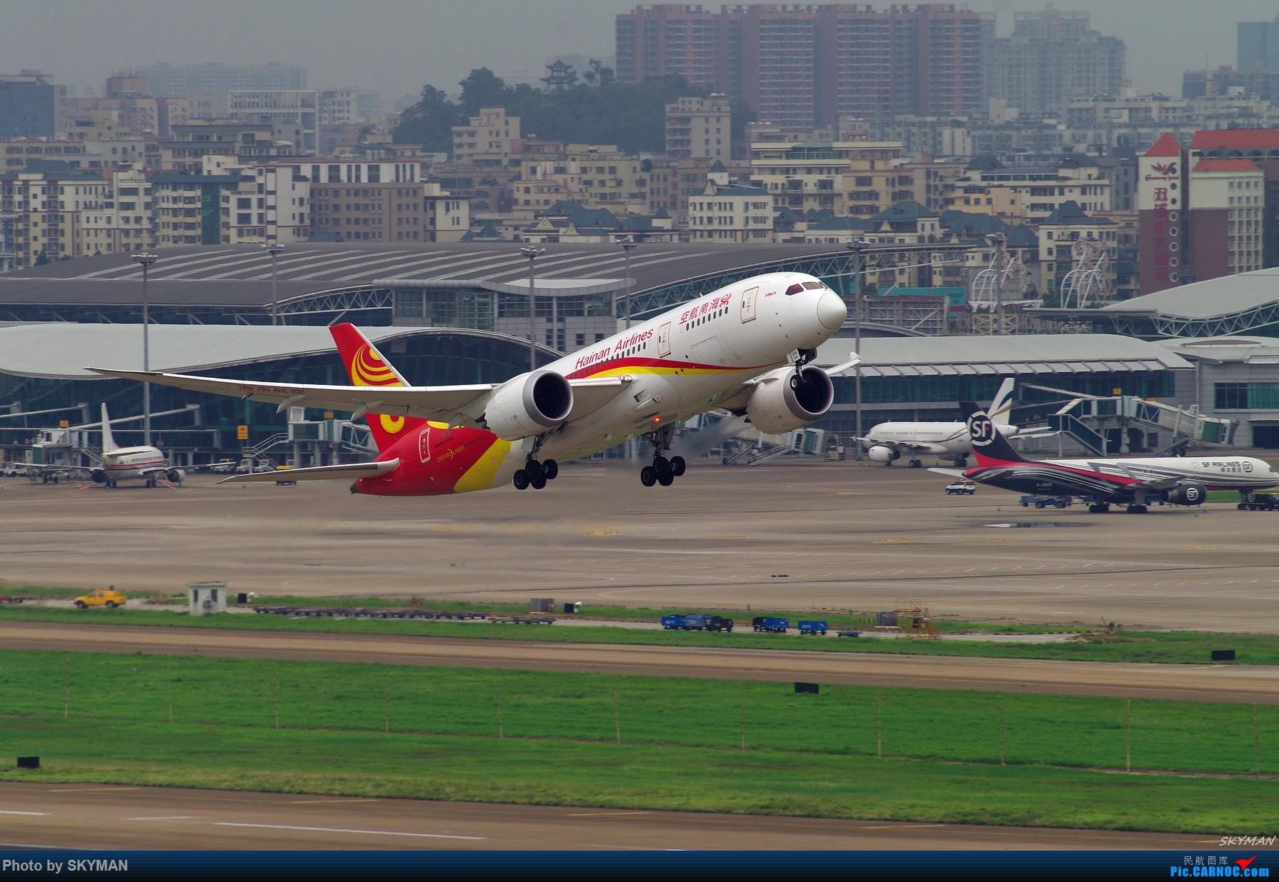 BLDDQ  海航787首航深圳    中国深圳宝安国际机场