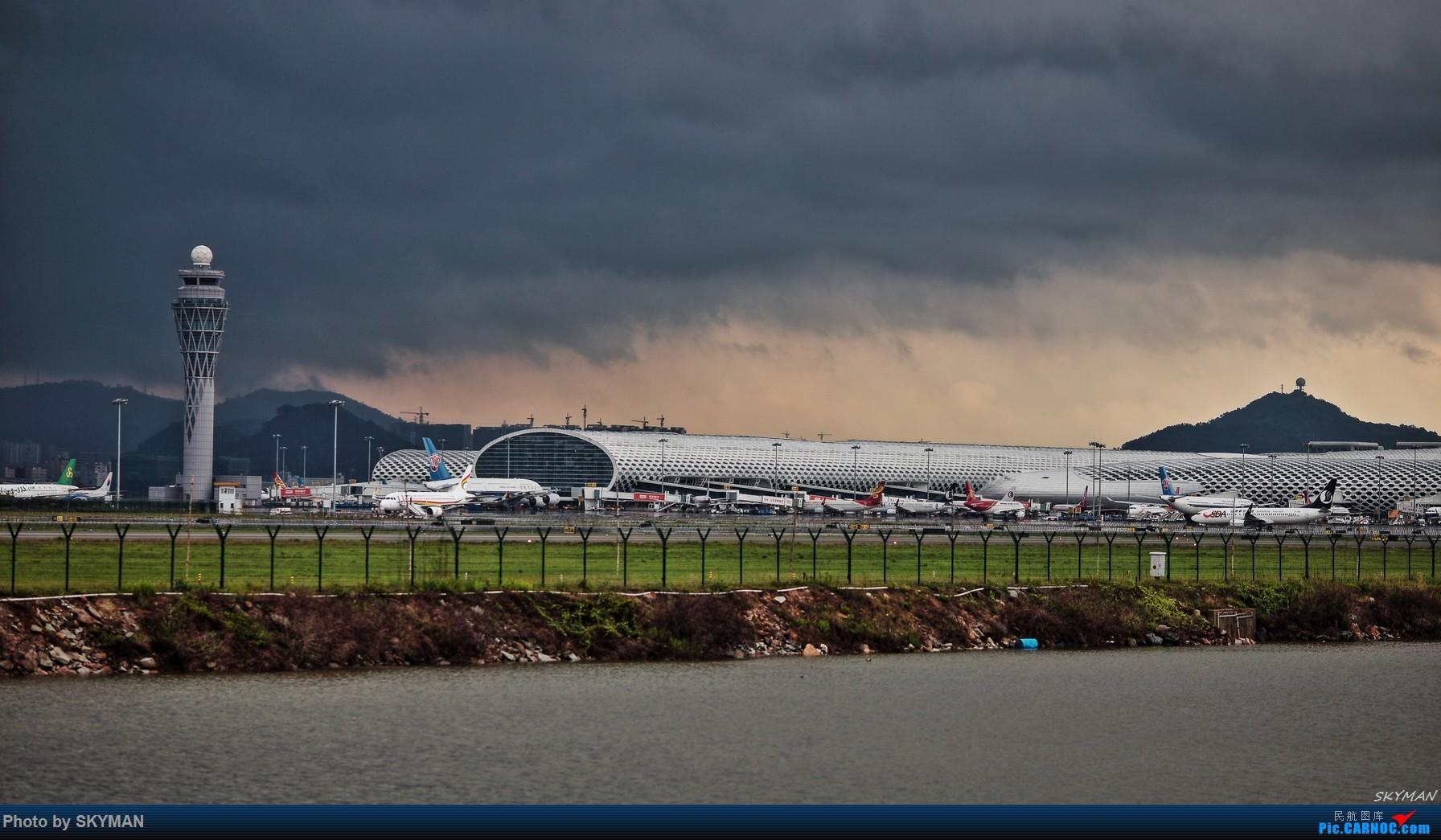 Re:[原创]BLDDQ  5.11 深圳机场龙卷风    中国深圳宝安国际机场