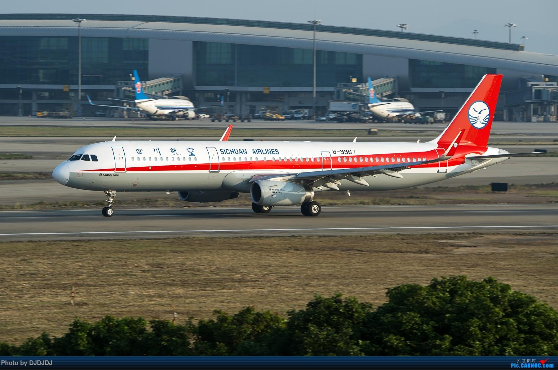 Re:[原创]【BLDDQ】9967 AIRBUS A321-200 B-9967 中国广州白云国际机场