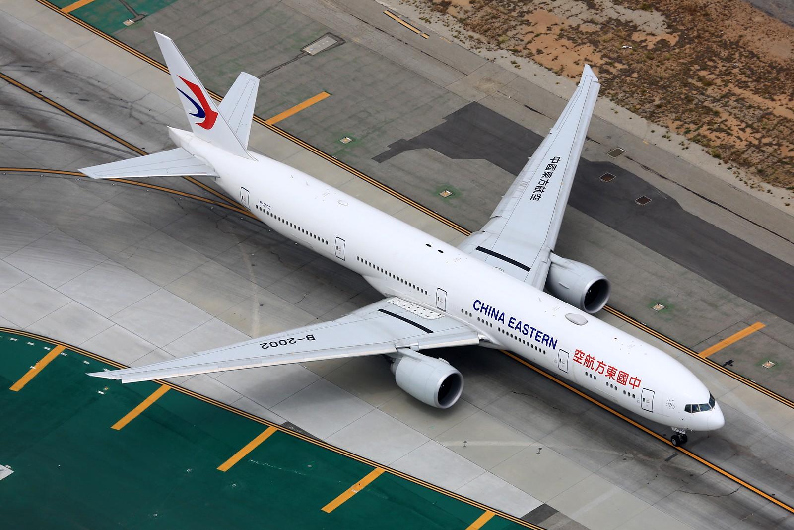 [原创]【LAX】**********777级了,空对空&空对地部分777合集[1600*1067]********** BOEING 777-300ER B-2002 美国洛杉矶机场