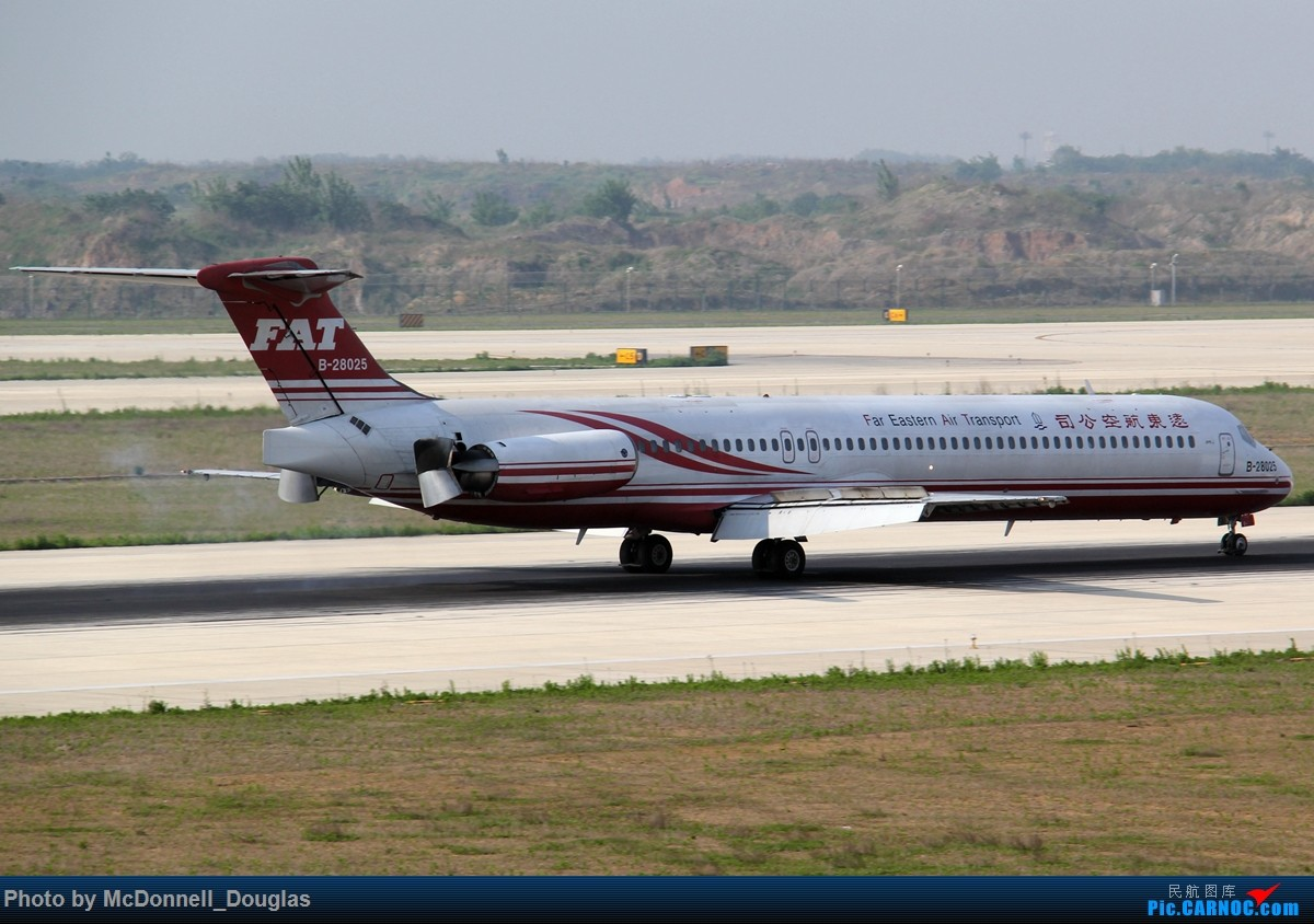 Re:[原创]【上海飞友会】2015.05.01劳动节拍机计划打MD-90偶遇MD-83和三架小190~M83已经出现啦看官们可以进来了 MCDONNELL DOUGLAS DC-9-SUPER80-83 B-28025 中国南京禄口国际机场