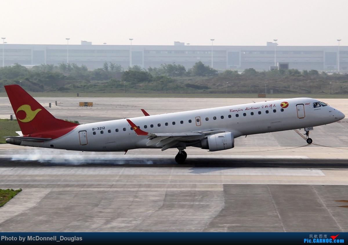 Re:[原创]【上海飞友会】2015.05.01劳动节拍机计划打MD-90偶遇MD-83和三架小190~M83已经出现啦看官们可以进来了 EMBRAER E-190 B-3212 中国南京禄口国际机场