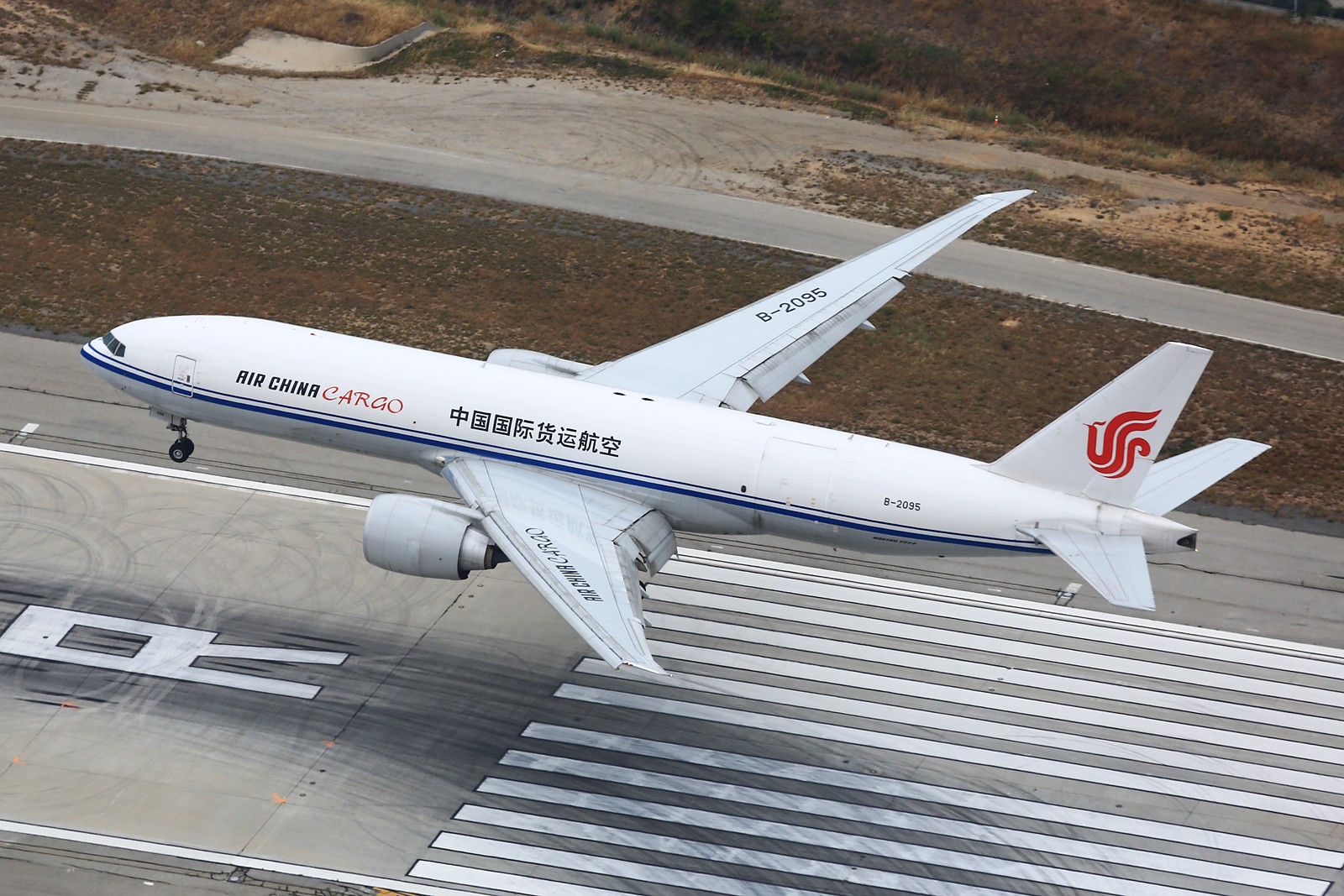 Re:[原创]【LAX】**********777级了,空对空&空对地部分777合集[1600*1067]********** BOEING 777-FFT B-2095 美国洛杉矶机场
