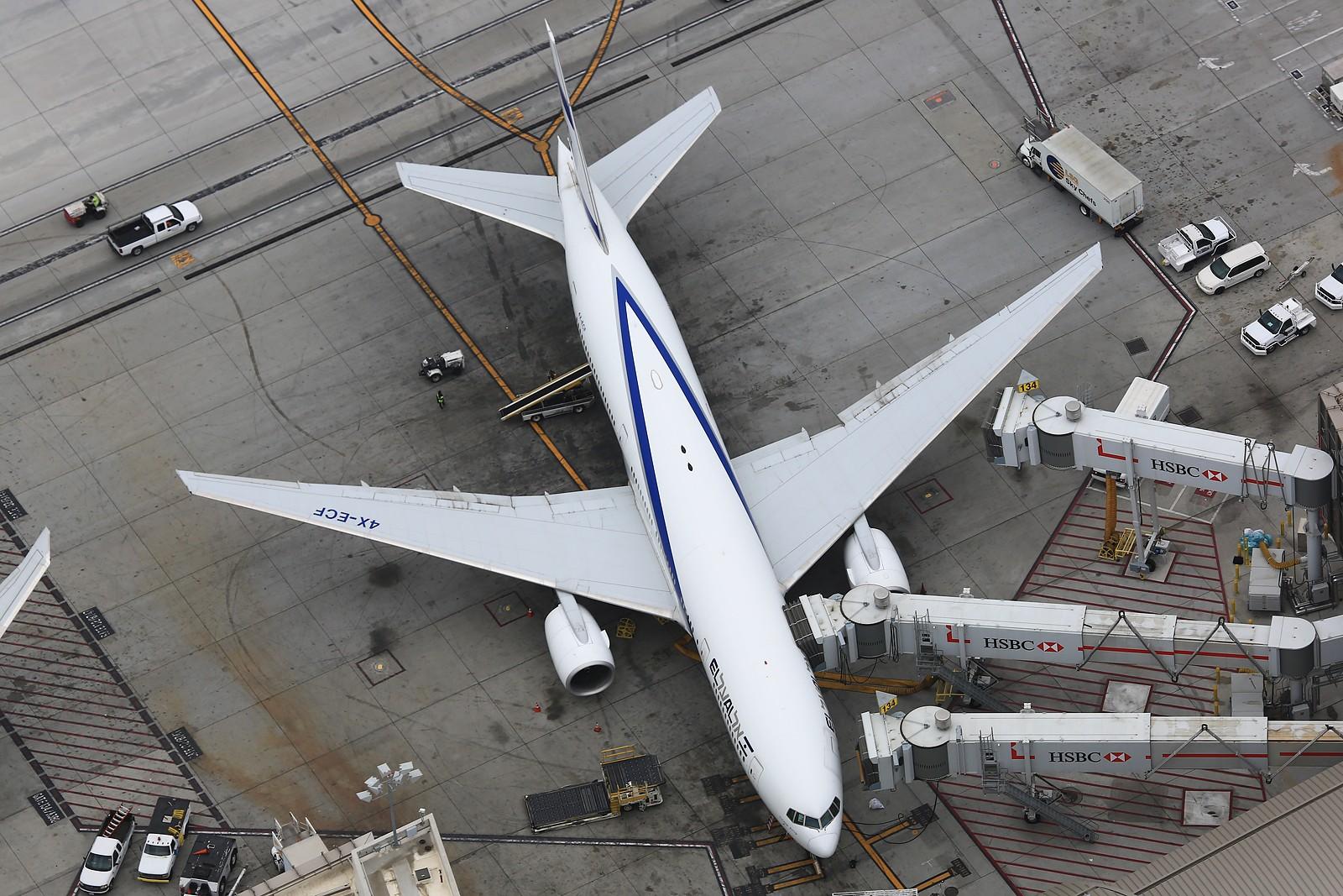 Re:[原创]【LAX】**********777级了,空对空&空对地部分777合集[1600*1067]********** BOEING 777-200ER 4X-ECF 美国洛杉矶机场