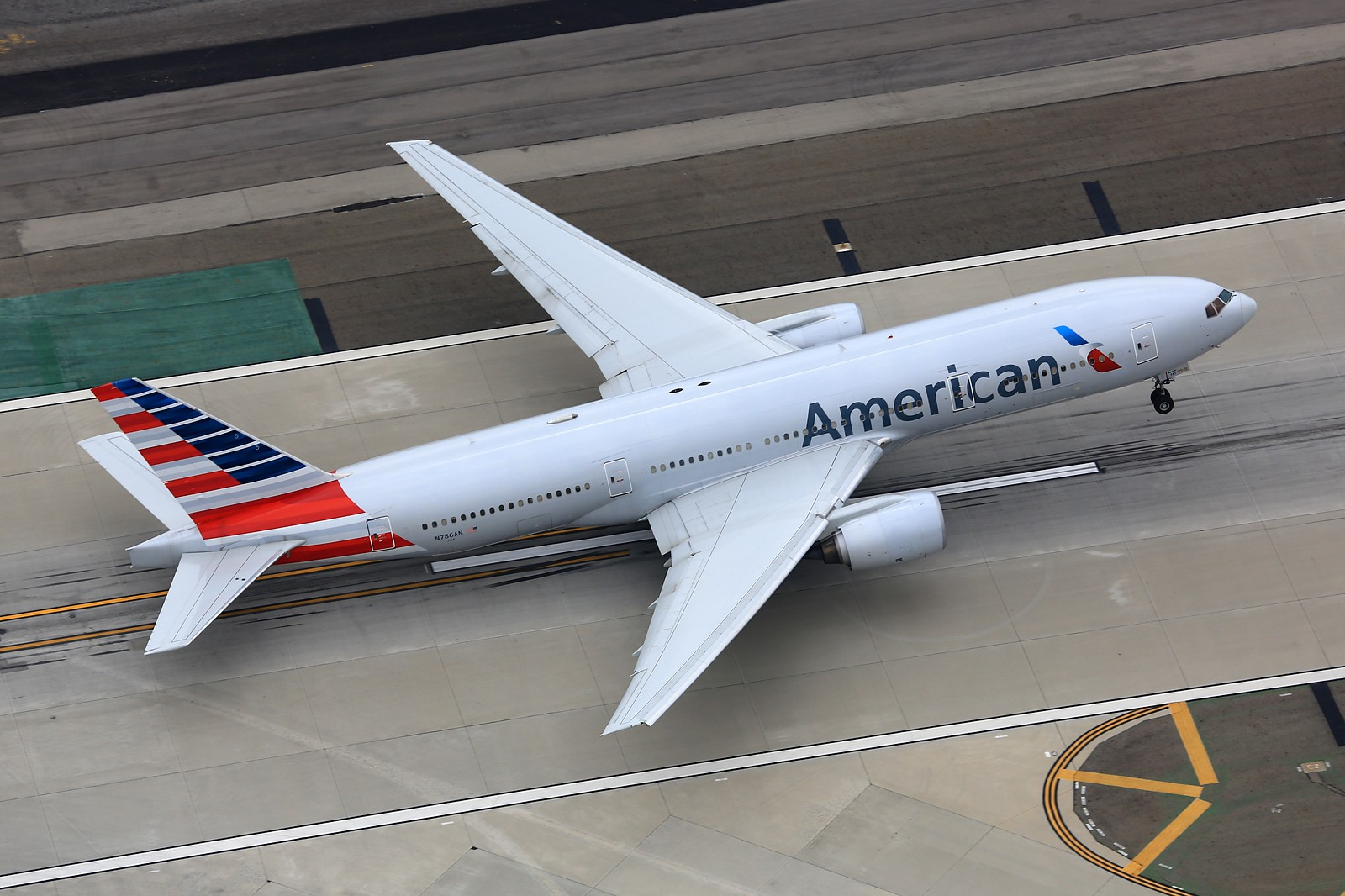 Re:[原创]【LAX】**********777级了,空对空&空对地部分777合集[1600*1067]********** BOEING 777-200ER N786AN 美国洛杉矶机场