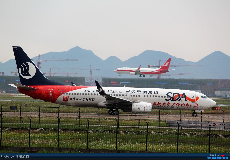 Re:[原创]CKG拍机(周末遇见唯品彩绘,天津大运彩绘,国航最新747-8) BOEING 737-800 B-1983 重庆江北国际机场