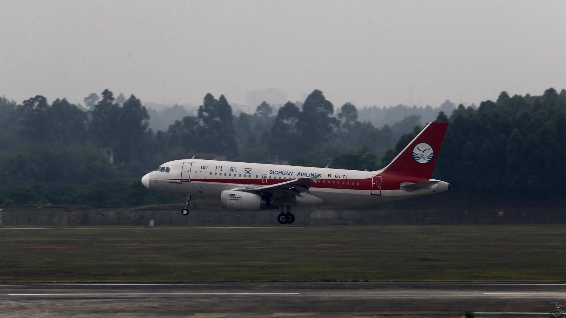 [原创]重出江湖【CTU】2015.5.17打飞机 AIRBUS A319-100 B-6171 中国成都双流国际机场