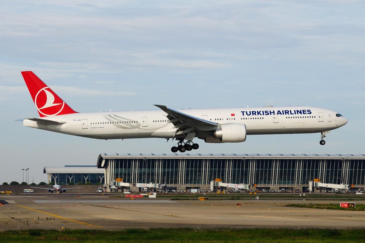 ~~~周末第一次去PVG~~~ BOEING 777-3F2/ER TC-JJR 中国上海浦东国际机场