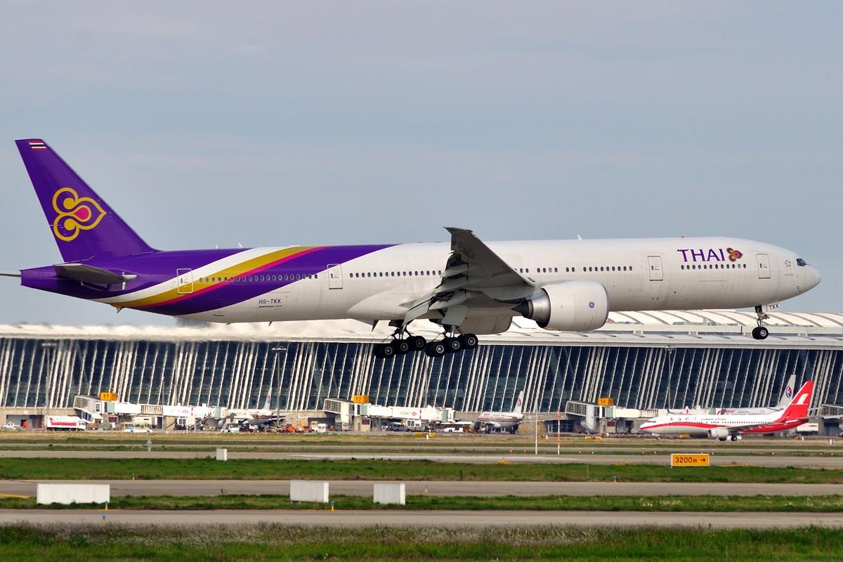 Re:[原创]~~~周末第一次去PVG~~~ BOEING 777-3AL/ER HS-TKK 中国上海浦东国际机场