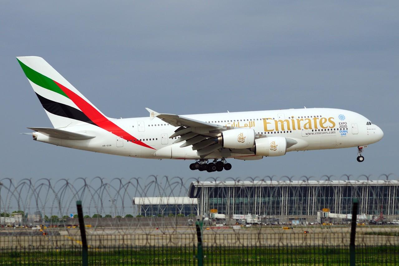 Re:[原创]~~~周末第一次去PVG~~~ AIRBUS A380-861 A6-EDB 中国上海浦东国际机场