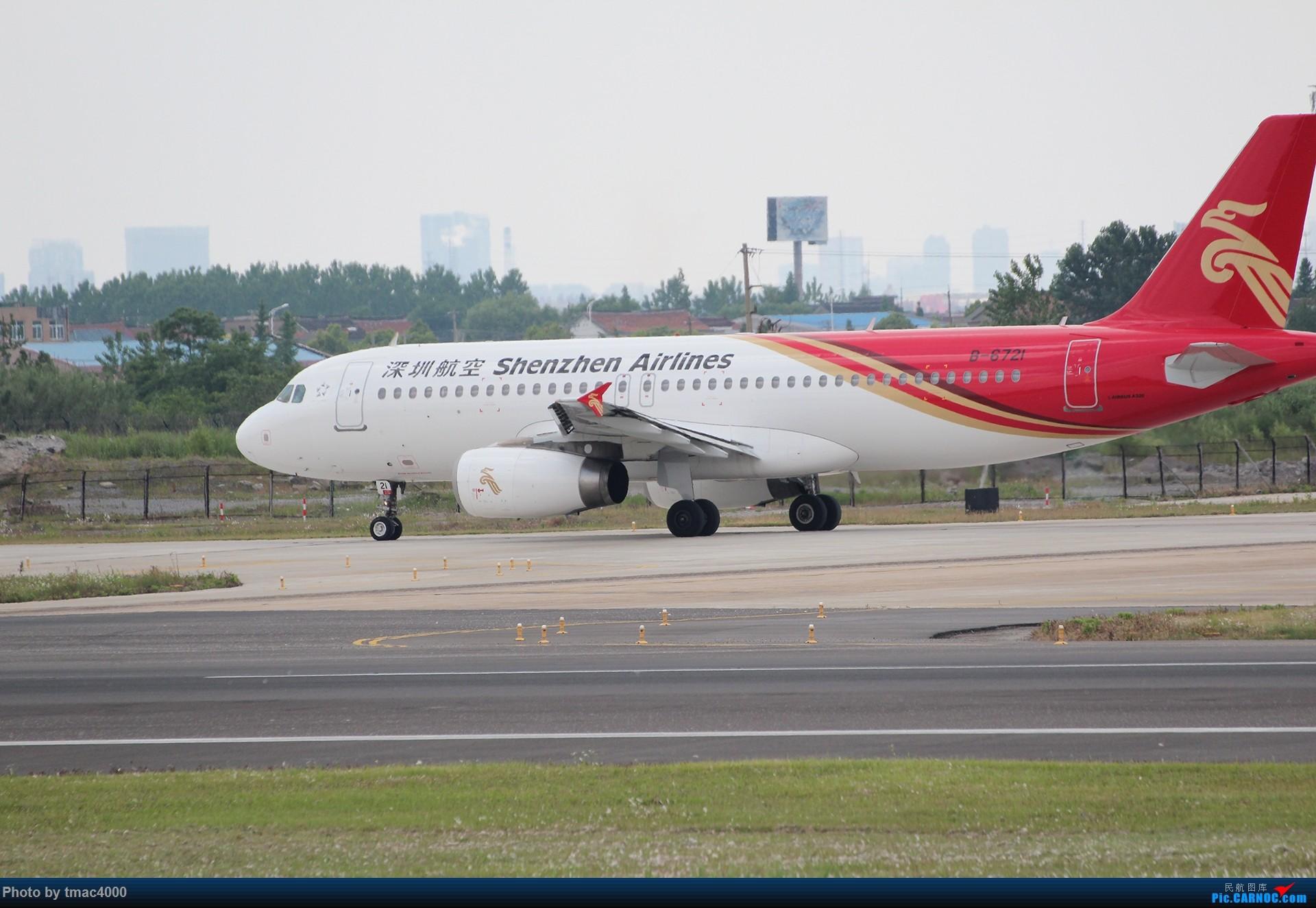 airbus a320-200 b-6721 中国南通兴东机场