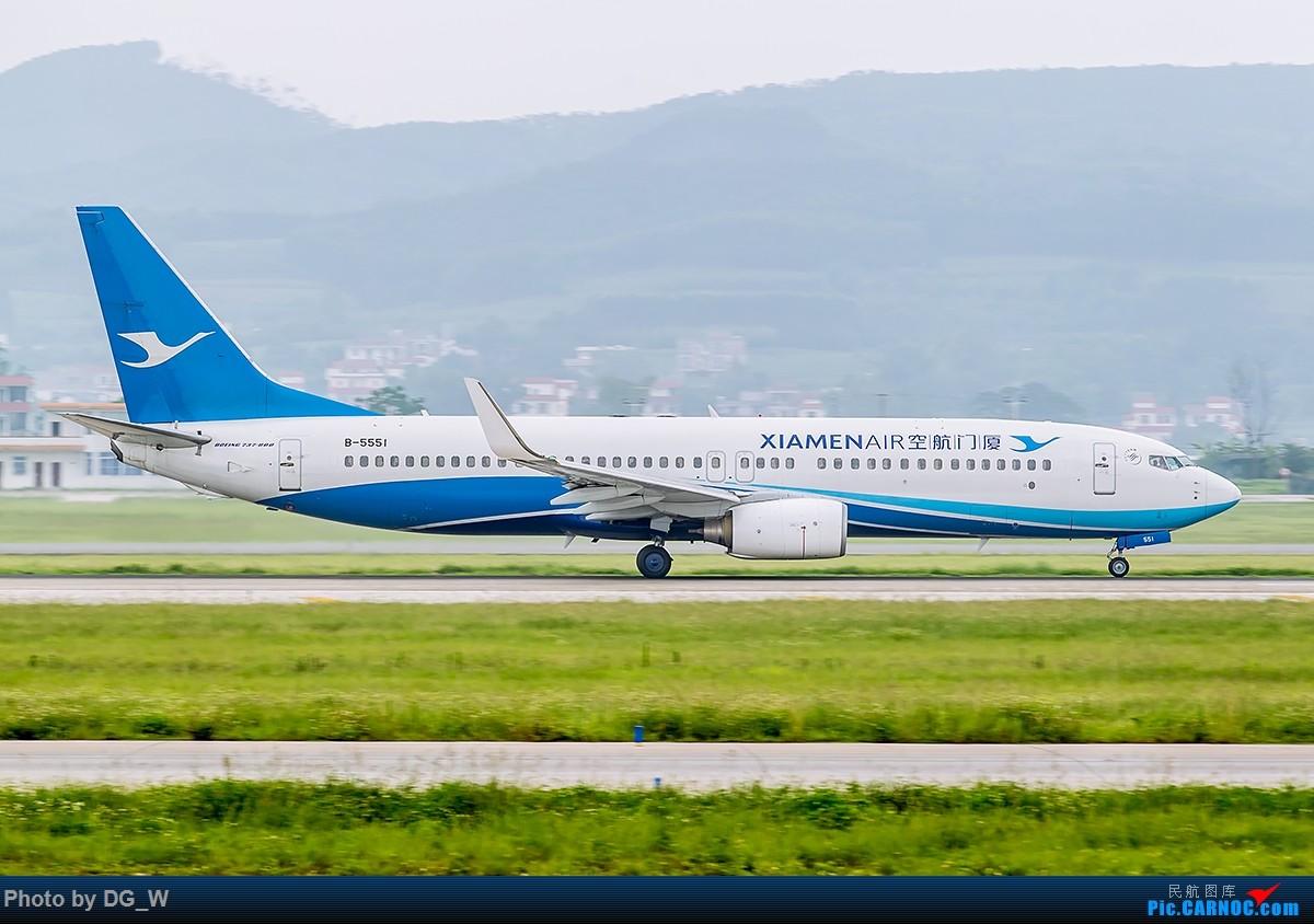 Re:[原创]【南宁飞友】烂天又来宽体 BOEING 737-800 B-5551 中国南宁吴圩国际机场
