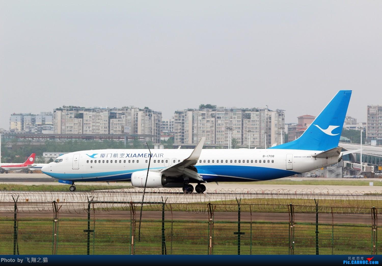 Re:[原创]CKG拍机(周末交作业反推位杂图) BOEING 737-800 B-1708 重庆江北国际机场