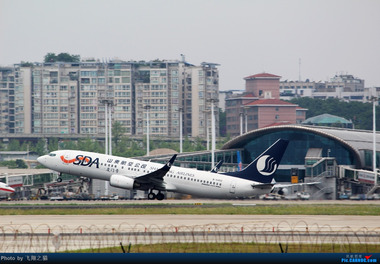 Re:[原创]CKG拍机(周末交作业反推位杂图) BOEING 737-800 B-5452 重庆江北国际机场