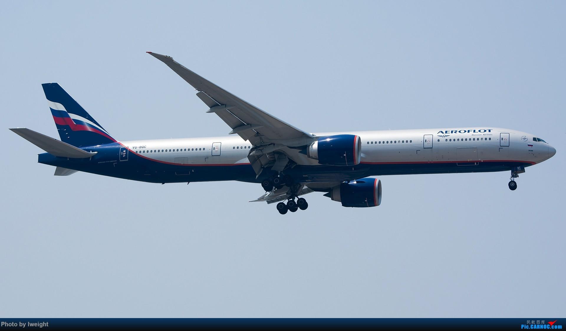 Re:[原创]周末帝都霾天拍机,凑合看看吧【2015-5-23】 BOEING 777-300ER VQ-BQC 中国北京首都国际机场