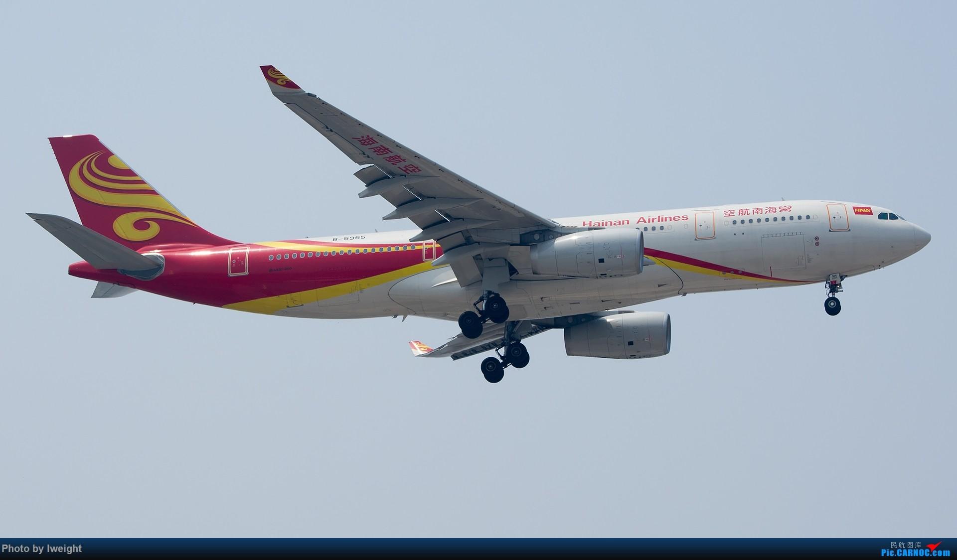 Re:[原创]周末帝都霾天拍机,凑合看看吧【2015-5-23】 AIRBUS A330-200 B-5955 中国北京首都国际机场