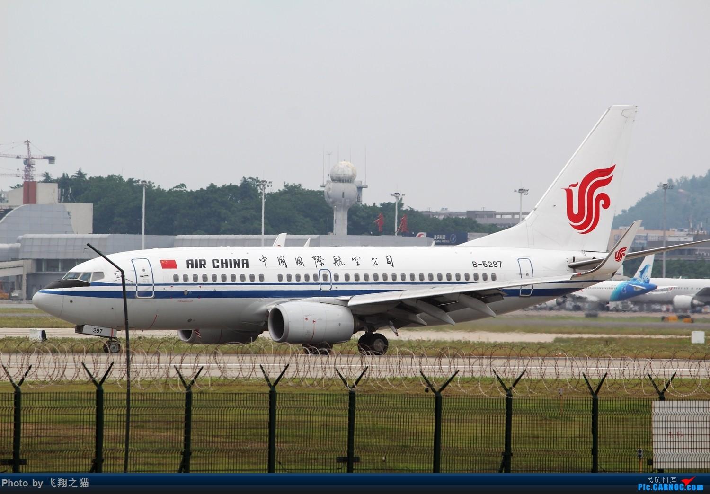 Re:[原创]CKG拍机(周末交作业反推位杂图) BOEING 737-700 B-5297 重庆江北国际机场