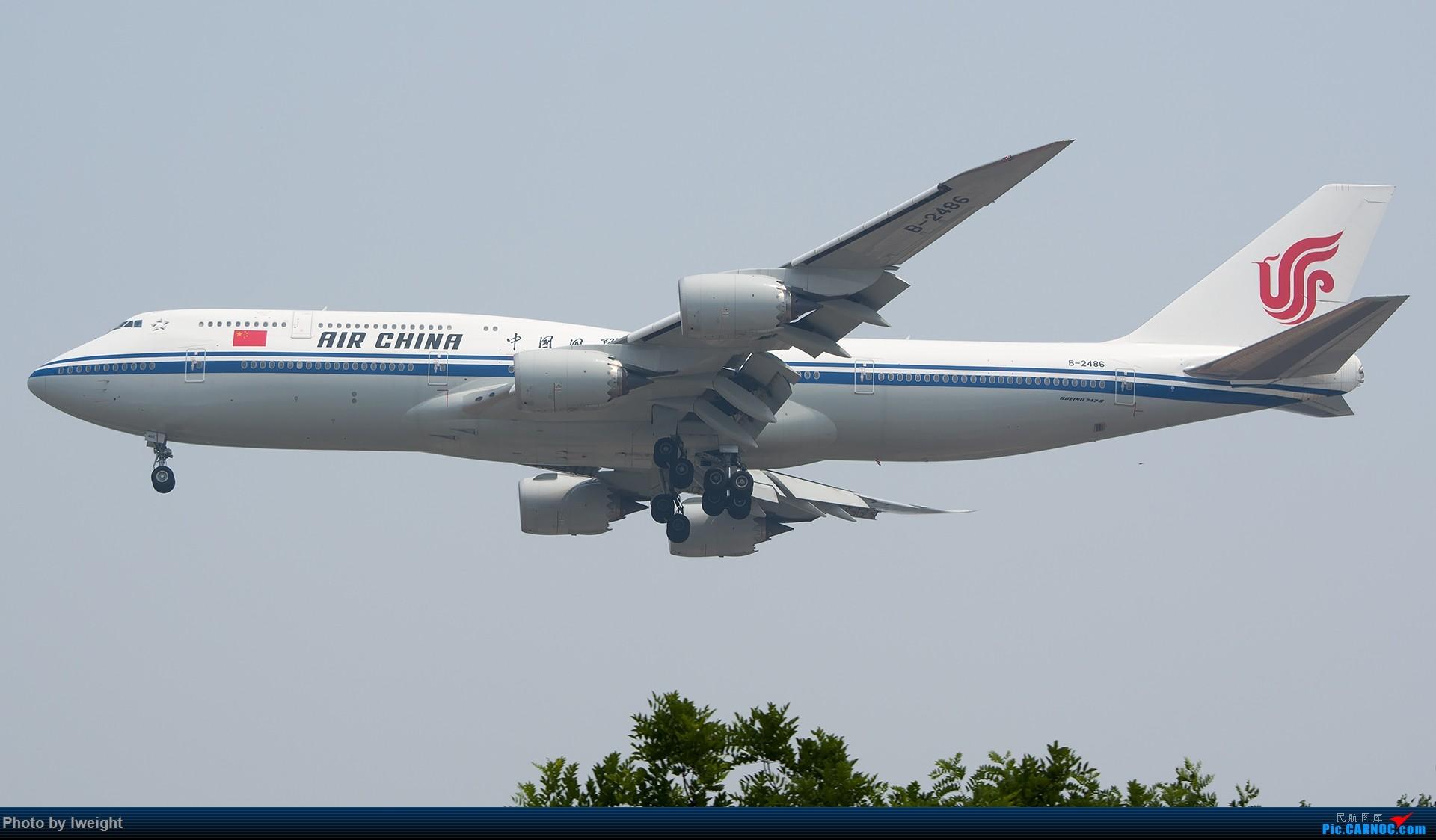 Re:[原创]周末帝都霾天拍机,凑合看看吧【2015-5-23】 BOEING 747-8I B-2486 中国北京首都国际机场