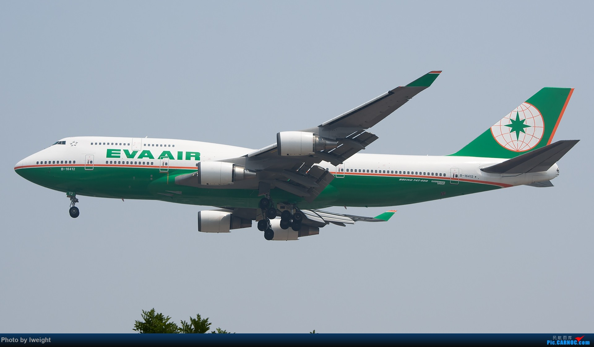 Re:[原创]周末帝都霾天拍机,凑合看看吧【2015-5-23】 BOEING 747-400 B-16412 中国北京首都国际机场