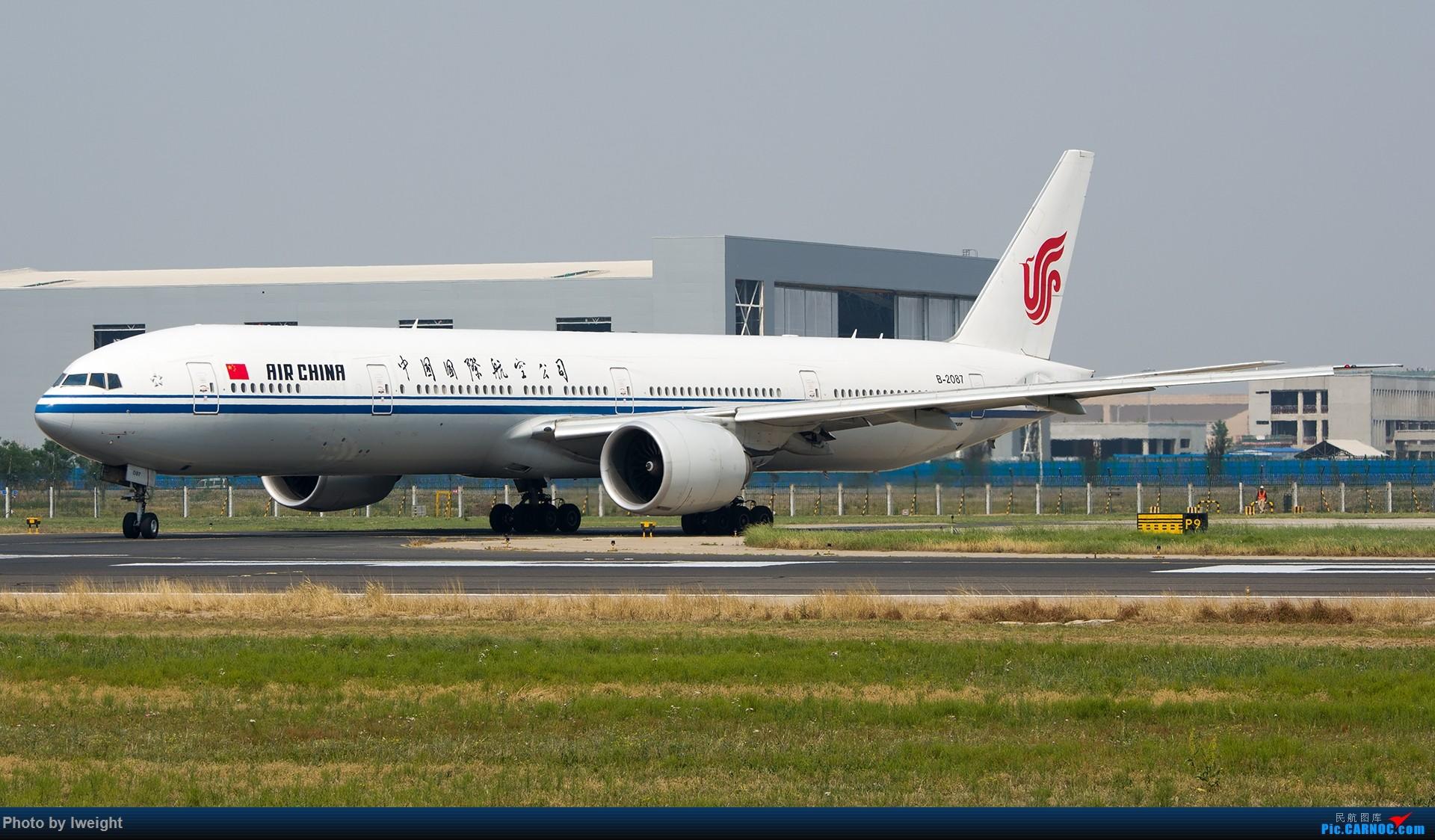 Re:[原创]周末帝都霾天拍机,凑合看看吧【2015-5-23】 BOEING 777-300ER B-2087 中国北京首都国际机场