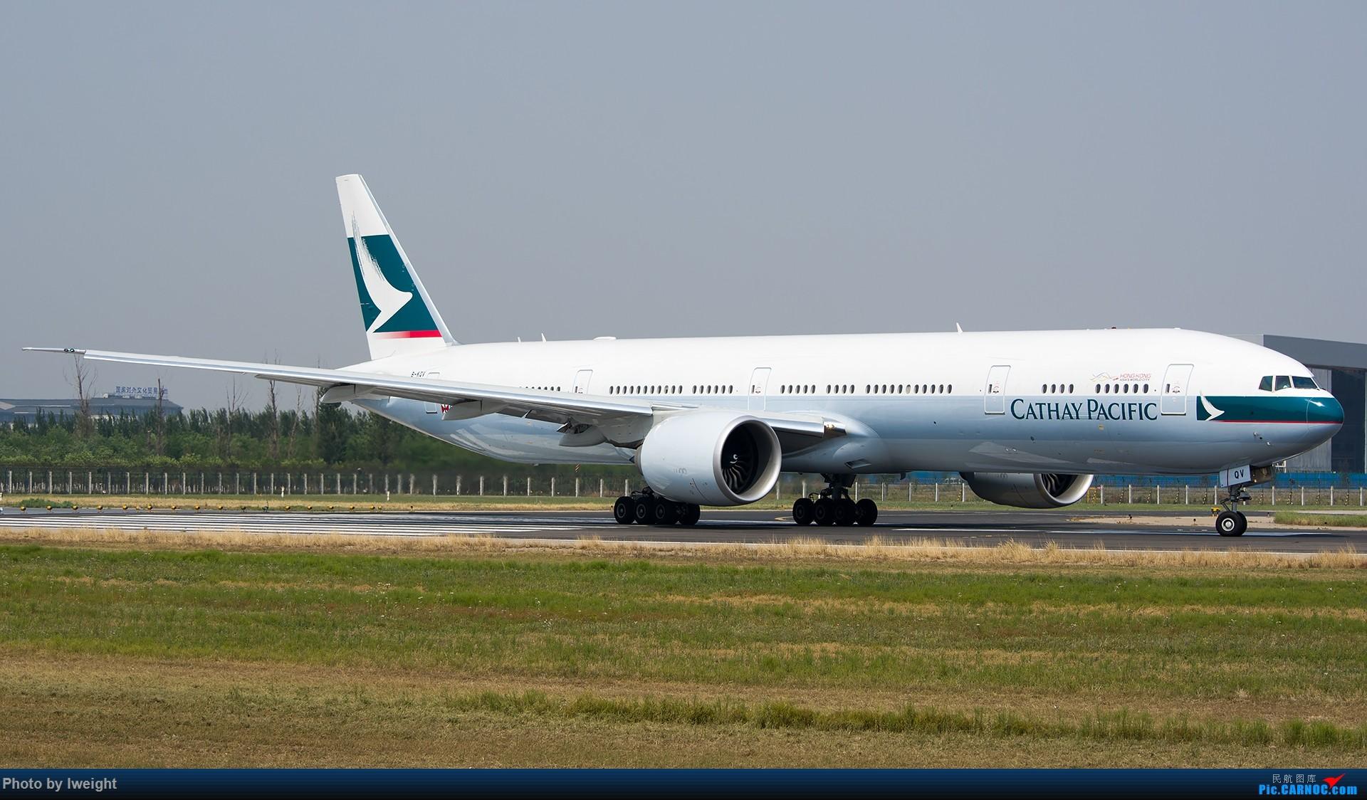 Re:[原创]周末帝都霾天拍机,凑合看看吧【2015-5-23】 BOEING 777-300ER B-KQV 中国北京首都国际机场