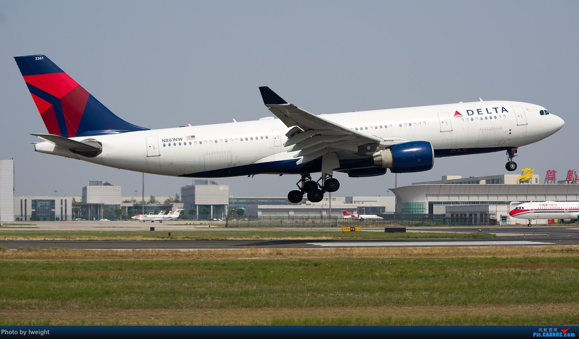 Re:[原创]周末帝都霾天拍机,凑合看看吧【2015-5-23】 AIRBUS A330-200 N861NW 中国北京首都国际机场