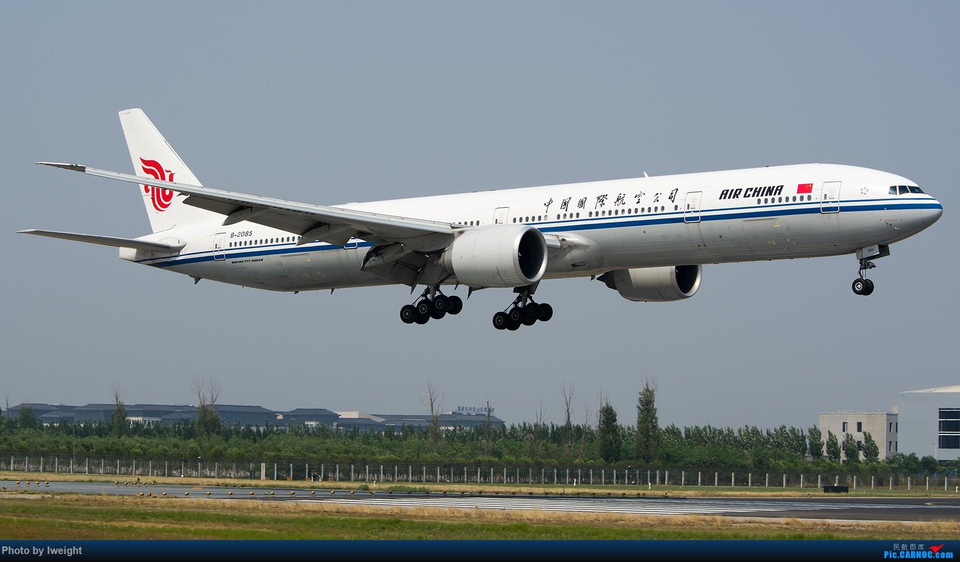 Re:[原创]周末帝都霾天拍机,凑合看看吧【2015-5-23】 BOEING 777-300ER B-2085 中国北京首都国际机场