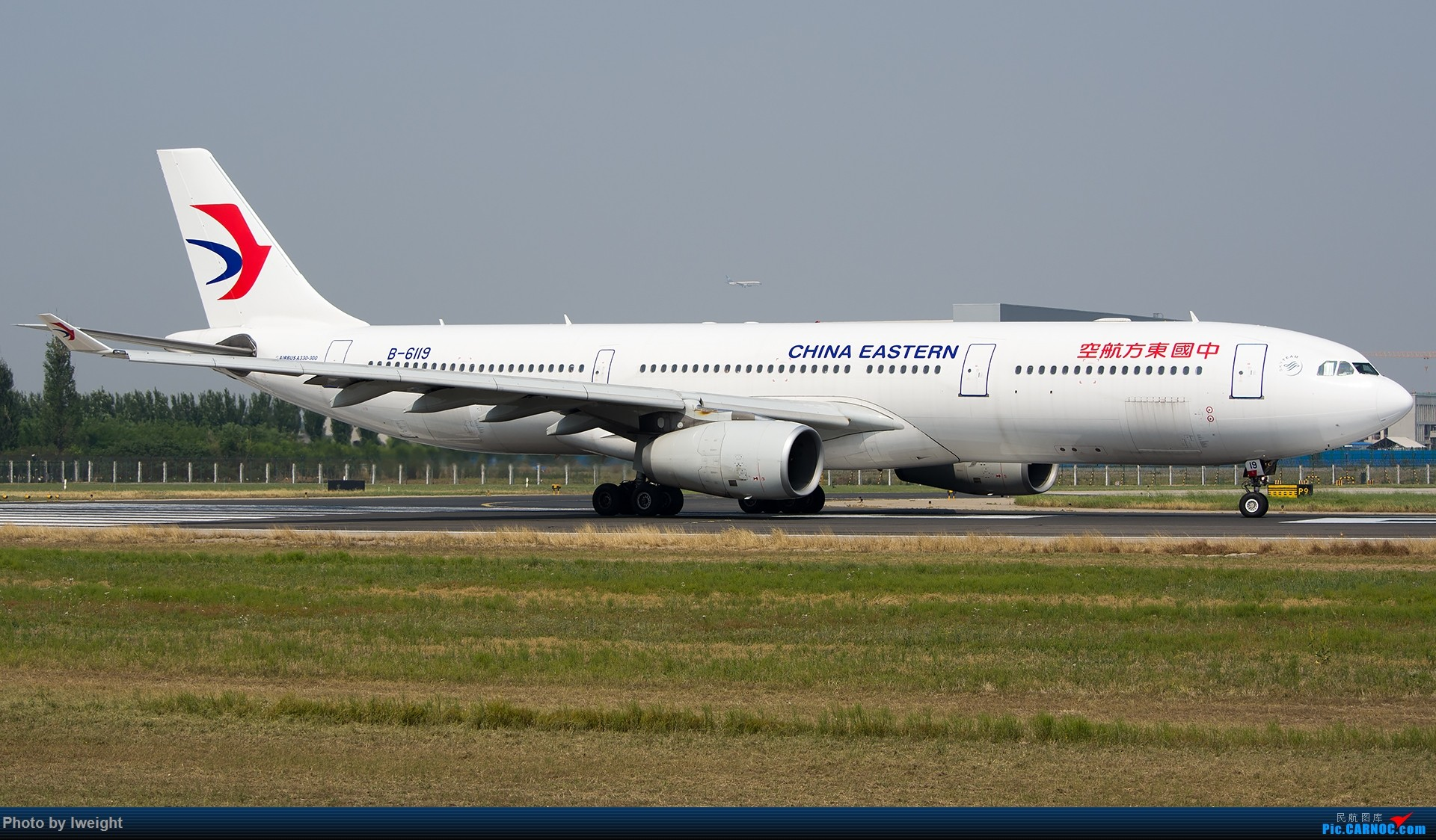 Re:[原创]周末帝都霾天拍机,凑合看看吧【2015-5-23】 AIRBUS A330-300 B-6119 中国北京首都国际机场