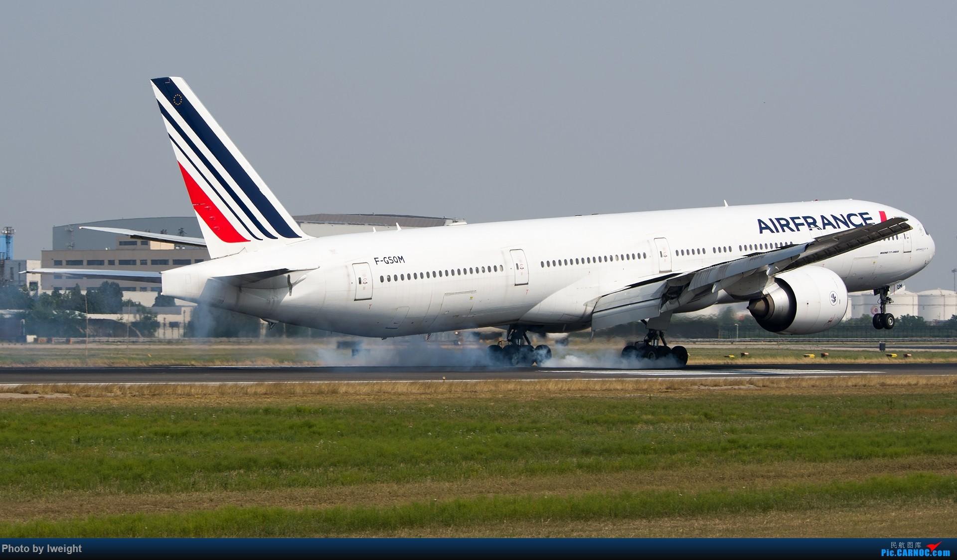 Re:[原创]周末帝都霾天拍机,凑合看看吧【2015-5-23】 BOEING 777-300ER F-GSQM 中国北京首都国际机场