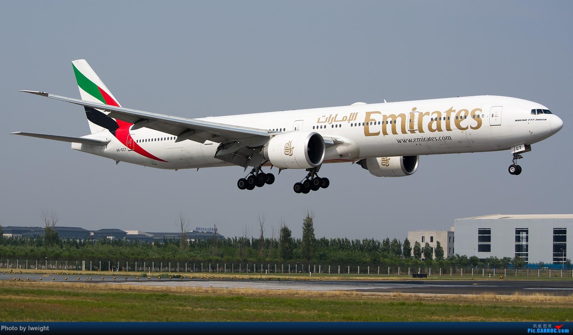 Re:[原创]周末帝都霾天拍机,凑合看看吧【2015-5-23】 BOEING 777-300ER A6-ECT 中国北京首都国际机场