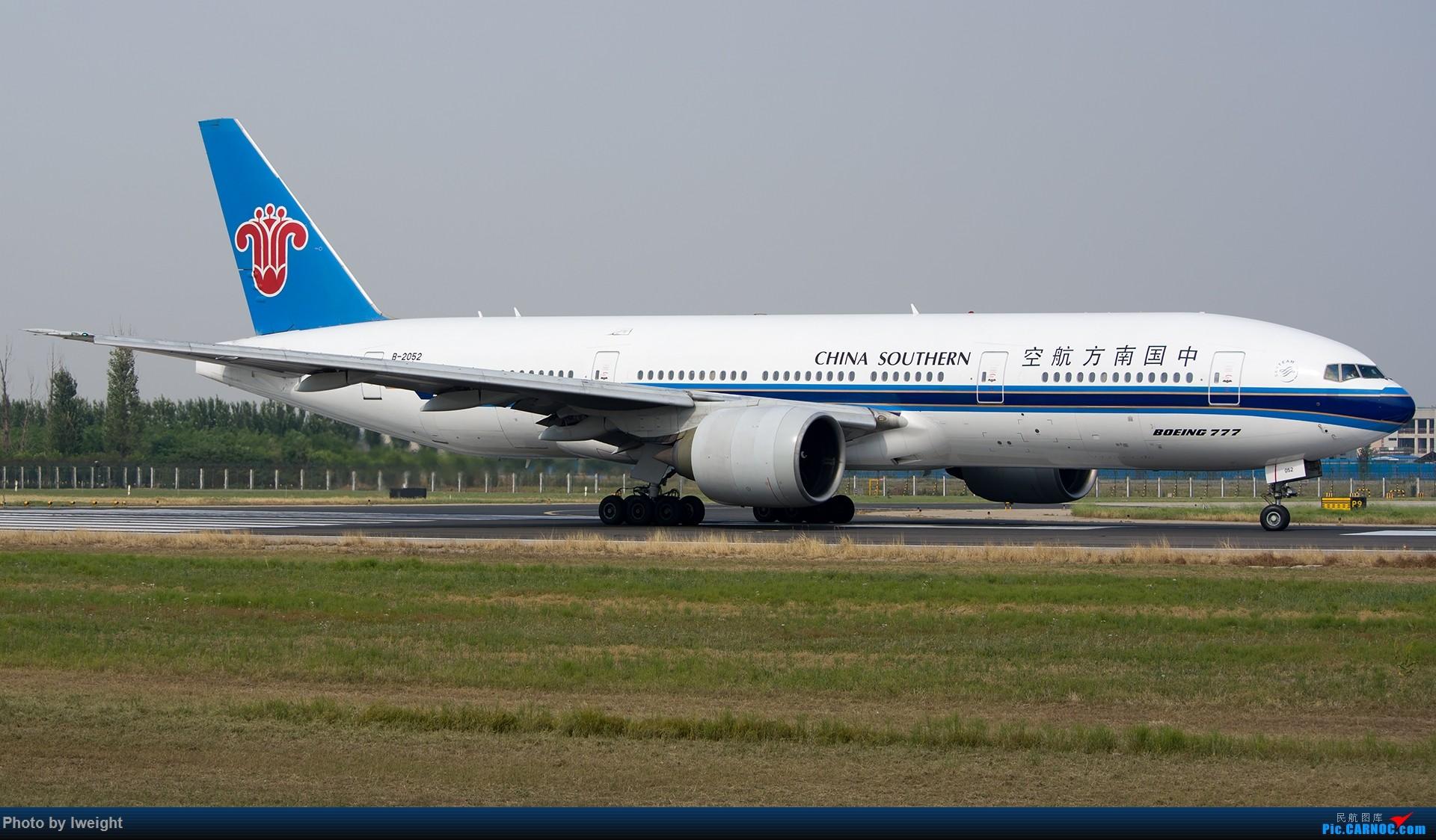Re:[原创]周末帝都霾天拍机,凑合看看吧【2015-5-23】 BOEING 777-200 B-2052 中国北京首都国际机场