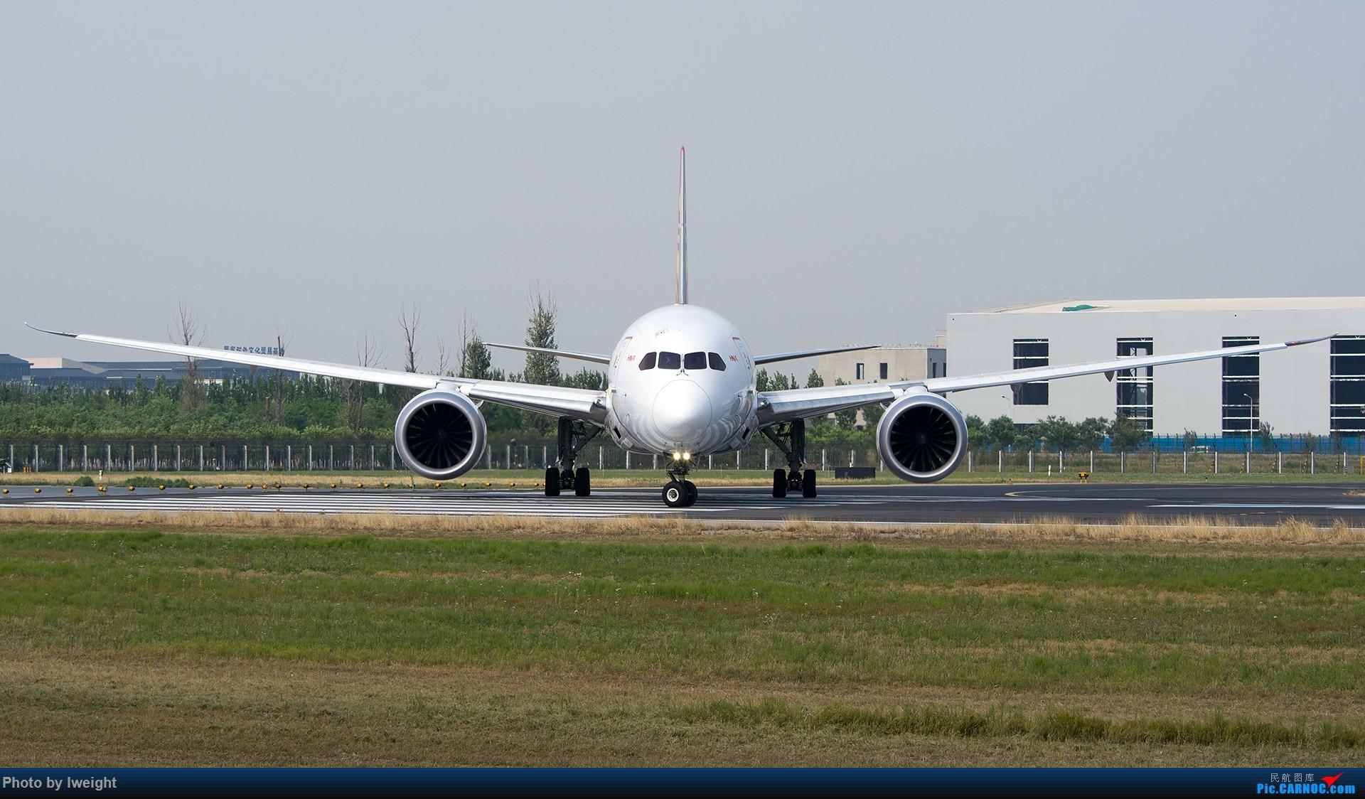 Re:[原创]周末帝都霾天拍机,凑合看看吧【2015-5-23】 BOEING 787-8 B-2739 中国北京首都国际机场