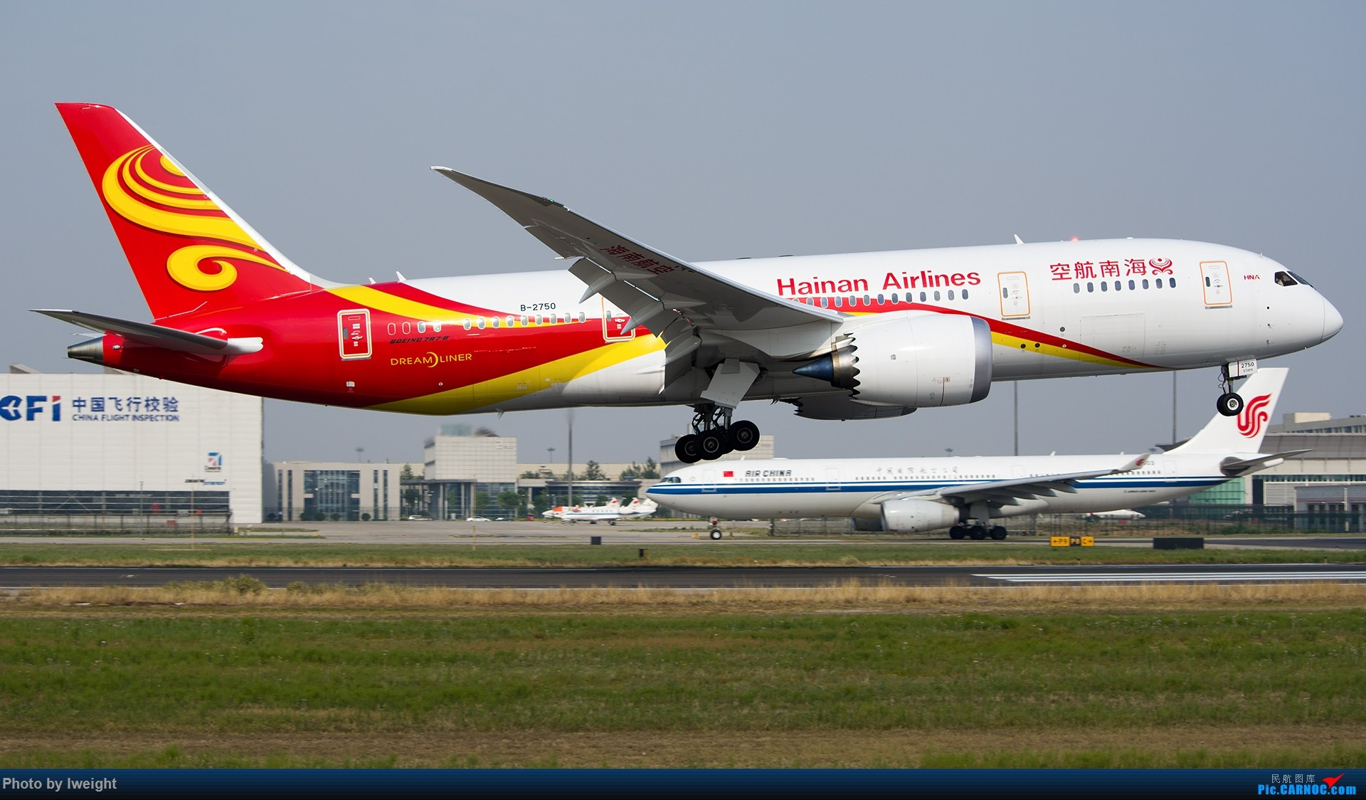 Re:[原创]周末帝都霾天拍机,凑合看看吧【2015-5-23】 BOEING 787-8 B-2750 中国北京首都国际机场