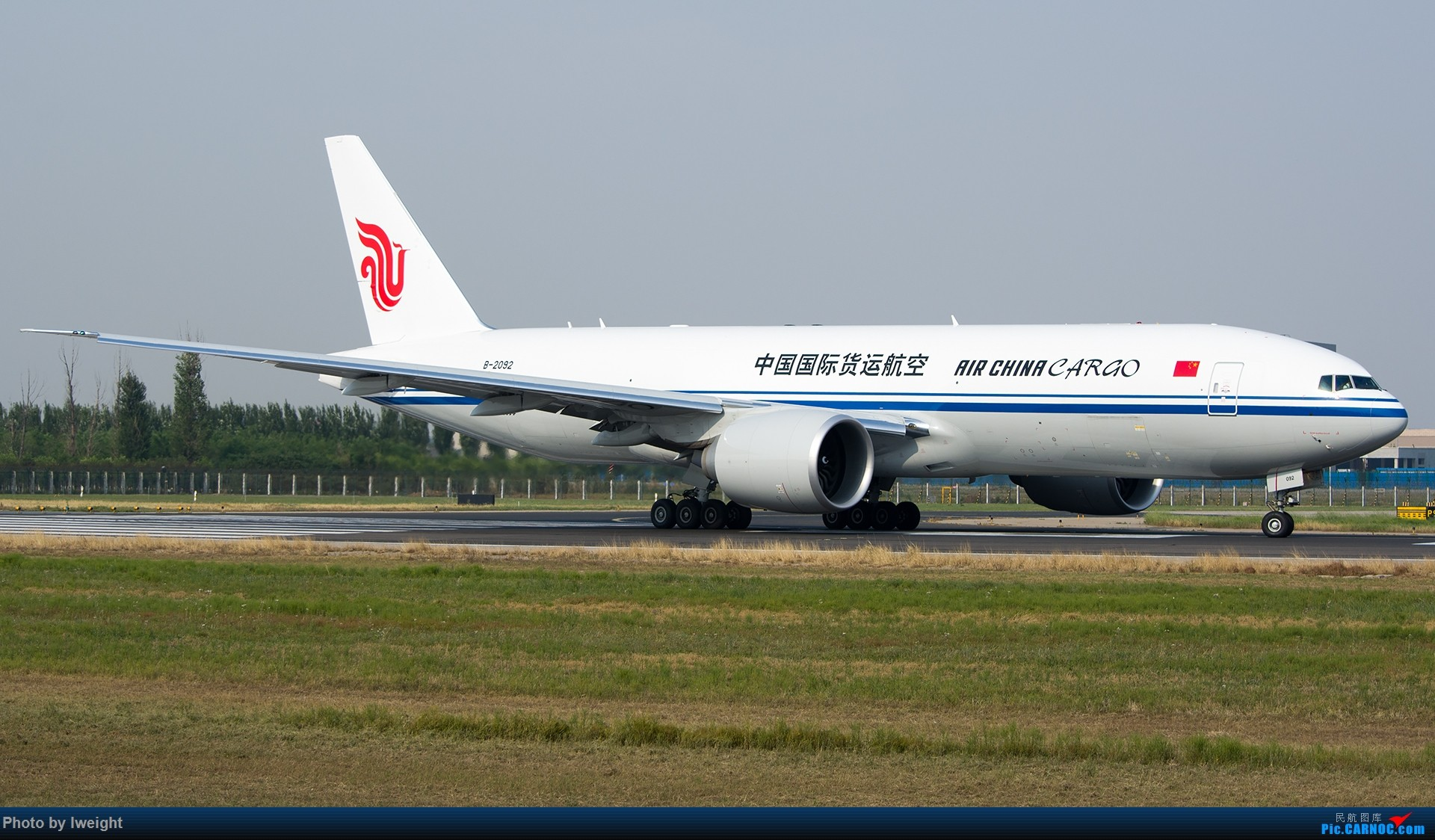 Re:[原创]周末帝都霾天拍机,凑合看看吧【2015-5-23】 BOEING 777-200 B-2092 中国北京首都国际机场