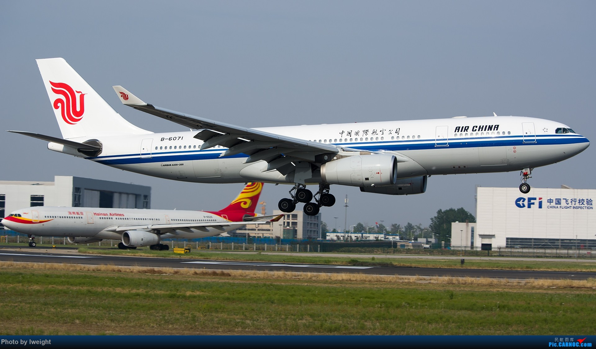 Re:[原创]周末帝都霾天拍机,凑合看看吧【2015-5-23】 AIRBUS A330-200 B-6071 中国北京首都国际机场