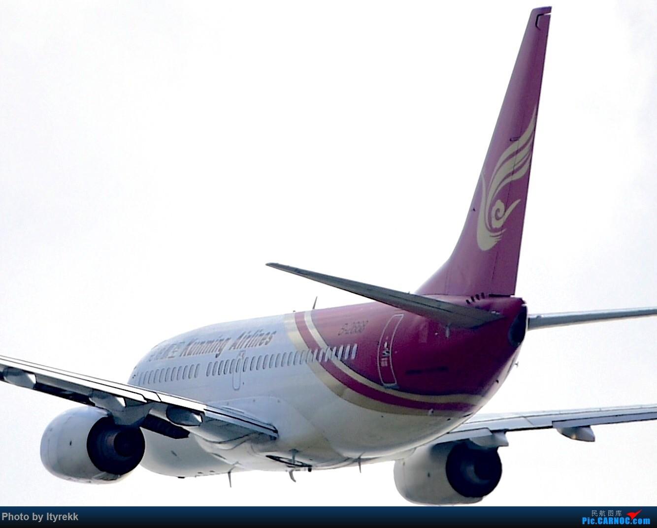 Re:[原创]【5.23LUM】玩腻了楼顶拍,来一次现场版的!求小飞机 BOEING 737-700 B-2668 中国芒市机场