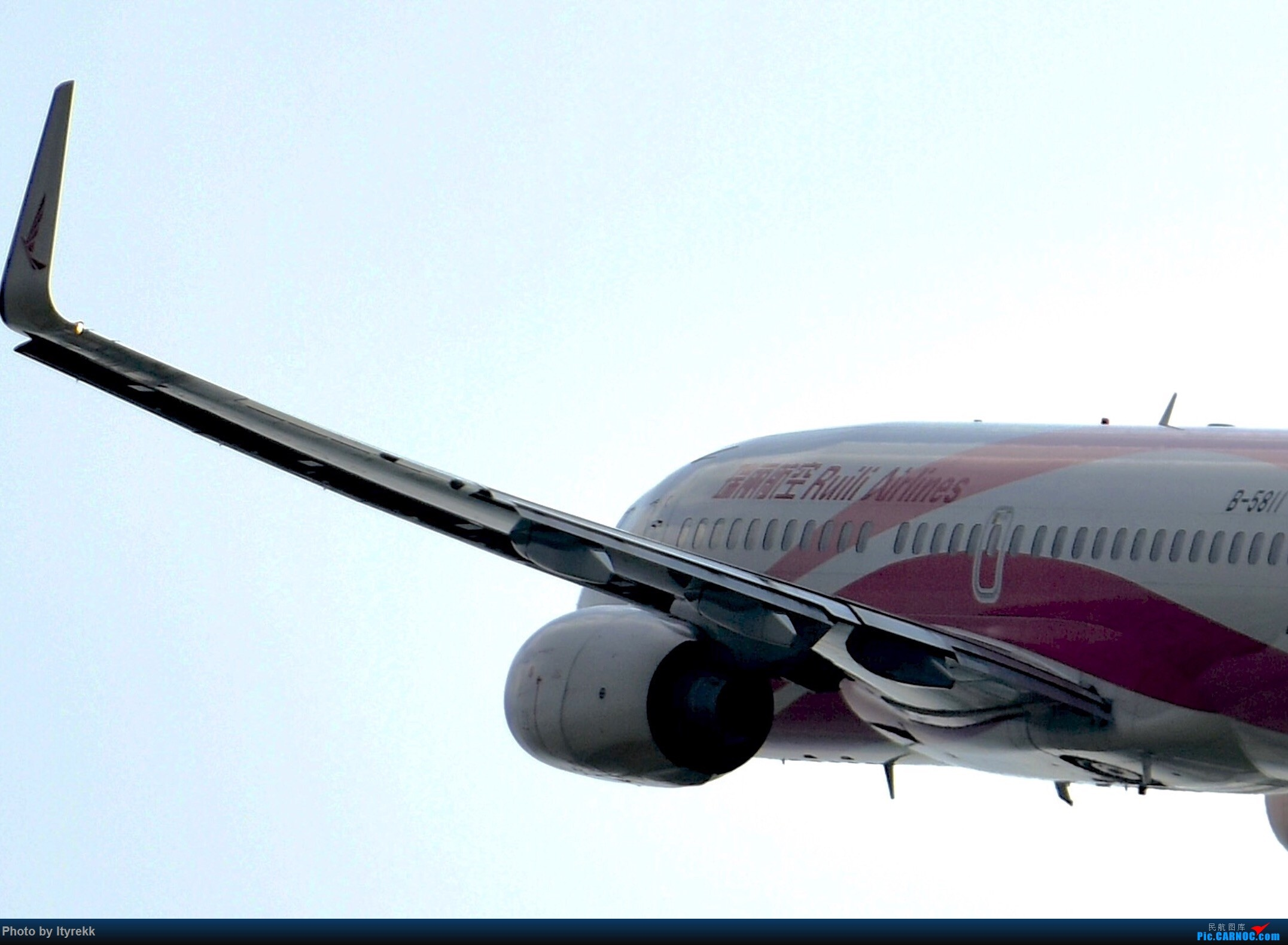Re:[原创]【5.23LUM】玩腻了楼顶拍,来一次现场版的!求小飞机 BOEING 737-700 B-5811 中国芒市机场