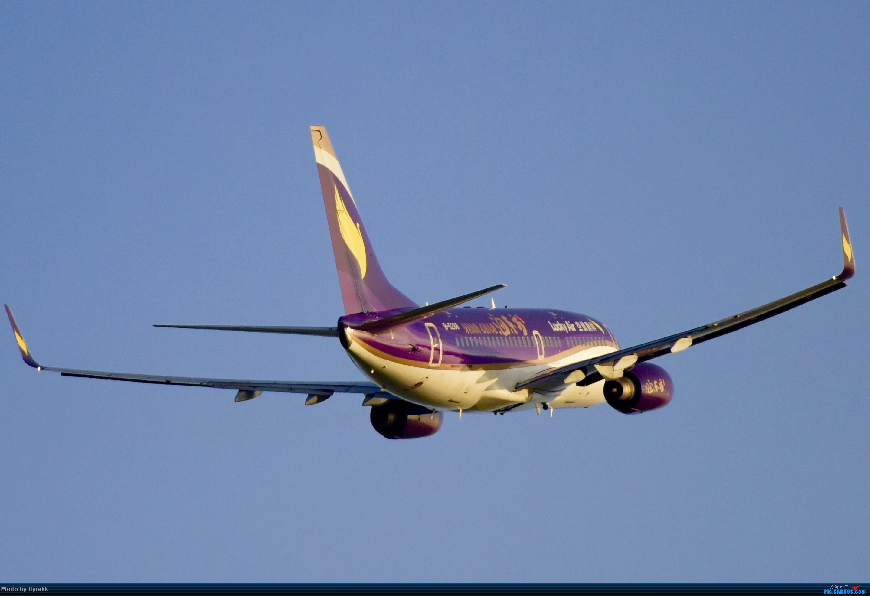 Re:[原创]【5.23LUM】玩腻了楼顶拍,来一次现场版的!求小飞机 BOEING 737-700 B-5268 中国芒市机场