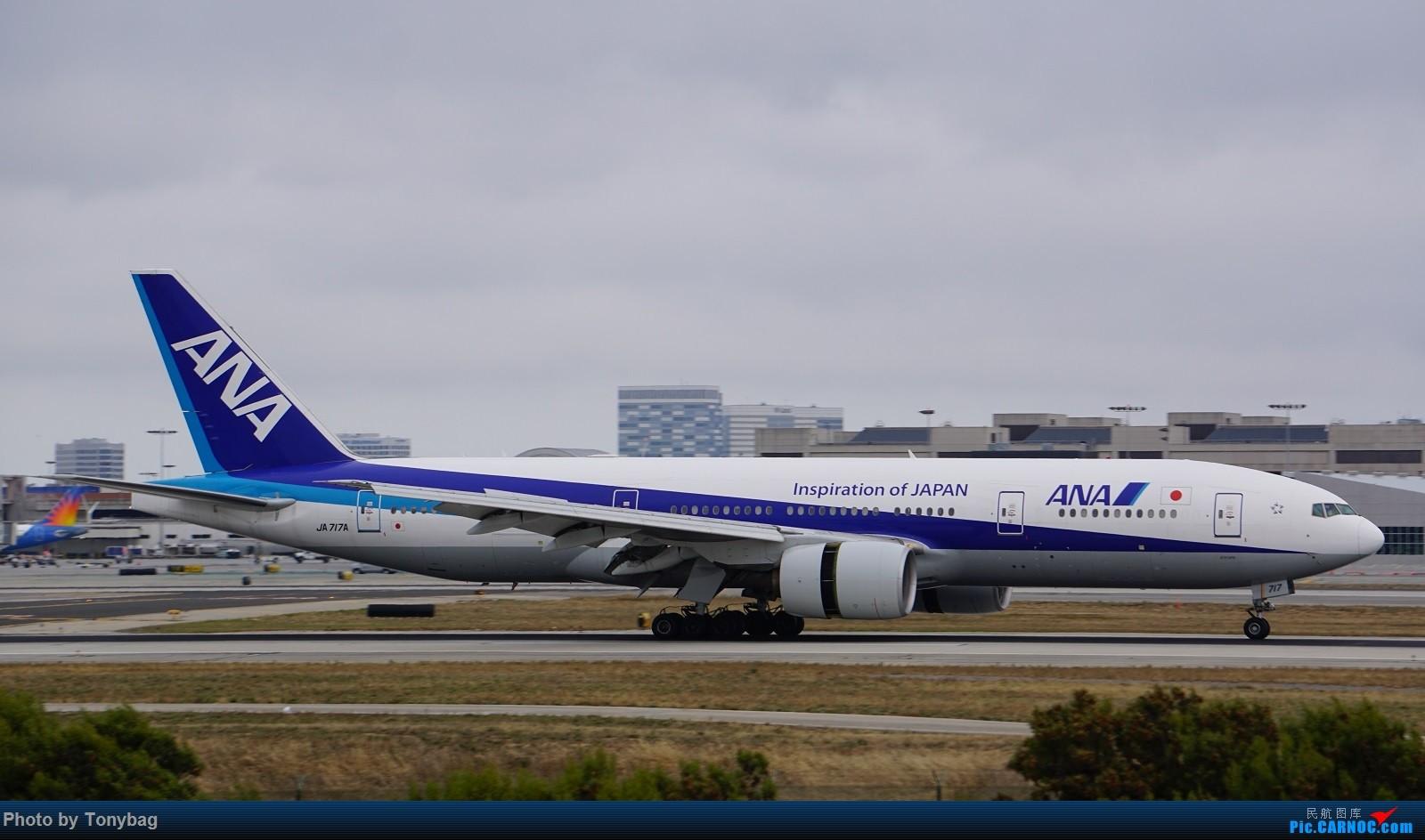 Re:[原创]家住LAX附近就是方便,天天拍飞机 BOEING 777-300ER JA717A
