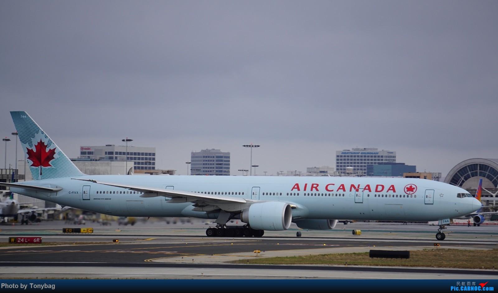 Re:[原创]家住LAX附近就是方便,天天拍飞机 BOEING 777-300ER C-FIVX